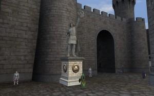 Statue für Athairne, Albions Gewinner für KDR