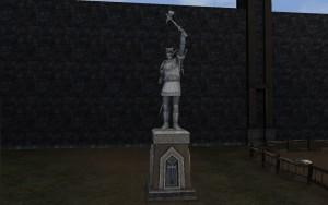 Statue für Renrik, Midgards Gewinner für KDR
